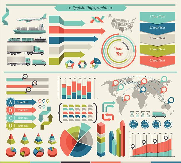 illustrations, cliparts, dessins animés et icônes de éléments infographiques - infographie de démographie