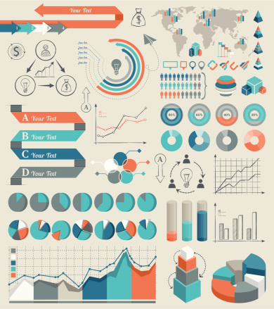 Infographic Elements Stock Illustration - Download Image Now