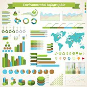 Vector infographic elements. EPS8 file.