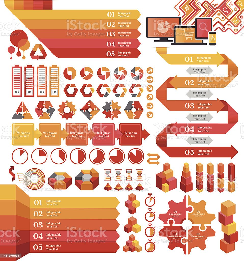 Infographic Elements royalty-free infographic elements stock vector art & more images of abstract