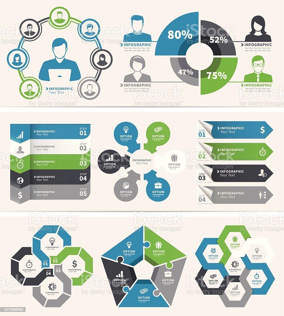 Infographic Elements vector art illustration
