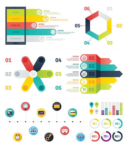 infografik-elemente - schlüsselfertig stock-grafiken, -clipart, -cartoons und -symbole
