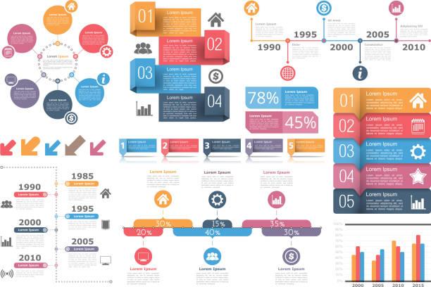Éléments infographiques  - Illustration vectorielle