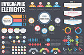Infographic elements - process, steps, options, workflow, timeline, circle diagram, timeilne, human infographics, pie charts, puzzle infographics, vector eps10 illustration