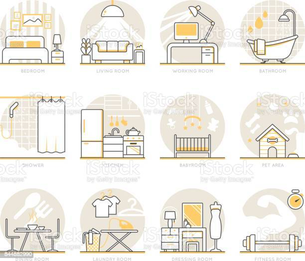 Infographic icons elements about interior design vector id844882990?b=1&k=6&m=844882990&s=612x612&h=svqr7fqhpvqybdcp4ghgkefly8yd6dokl0uilsevtvw=