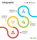 infographic, icon, business, finance, recruitment