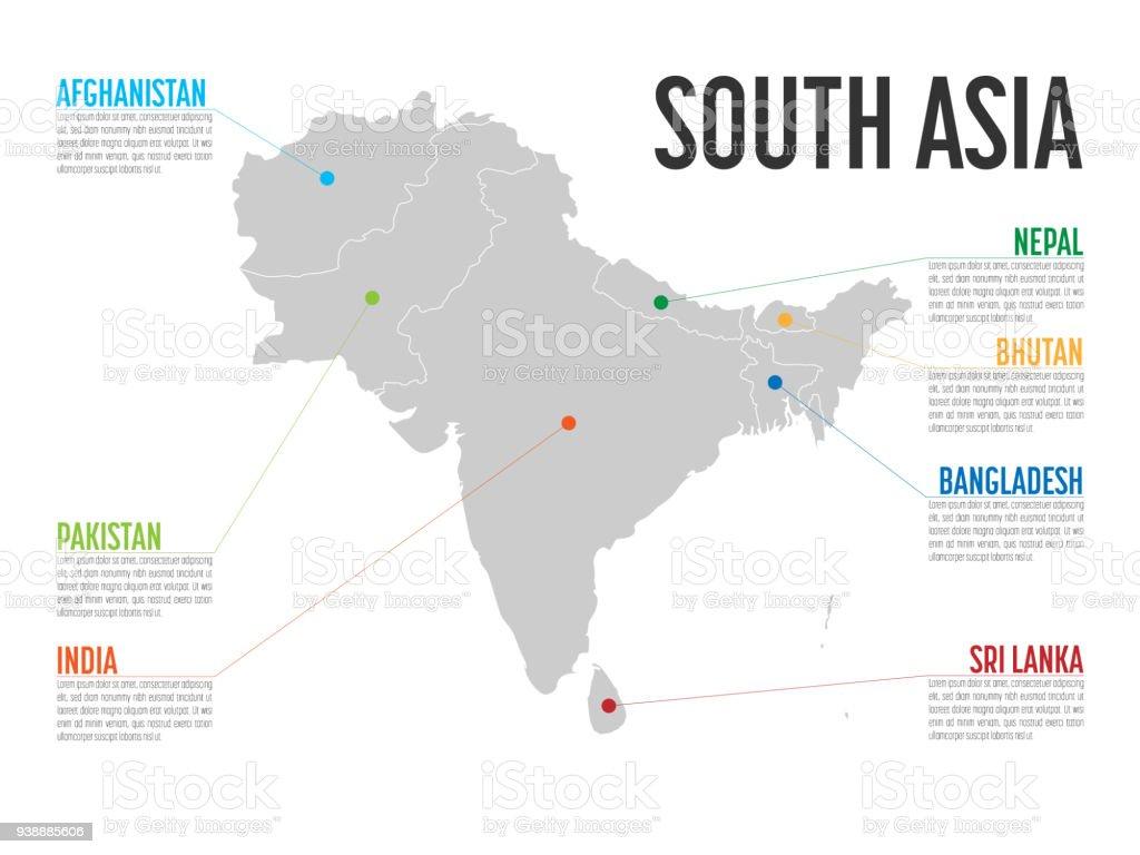 Lujoso Plantilla De Mapa De India Colección - Ejemplo De Colección ...