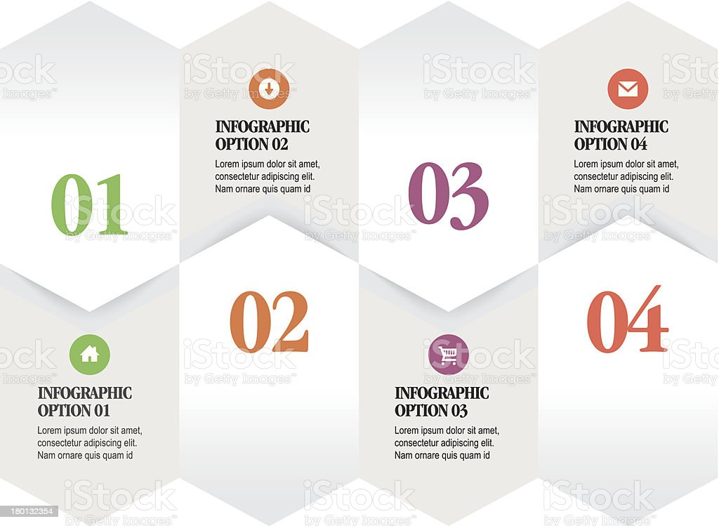 Infographic Options royalty-free infographic options stock vector art & more images of abstract