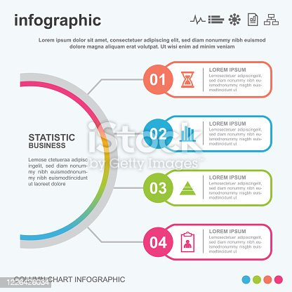 infographic, icon, business, finance, data