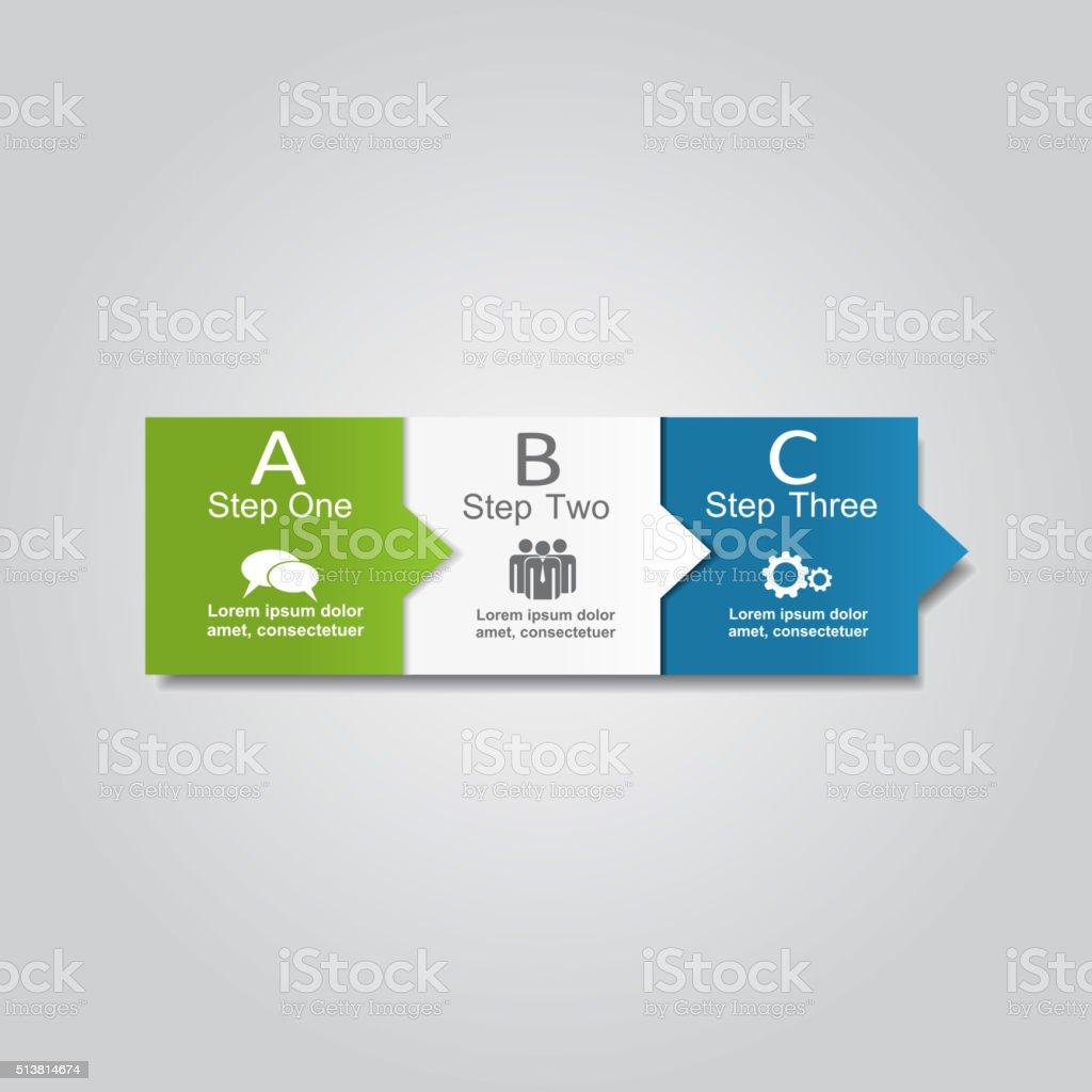 Infografía Plantilla de informe. Ilustración vectorial - ilustración de arte vectorial
