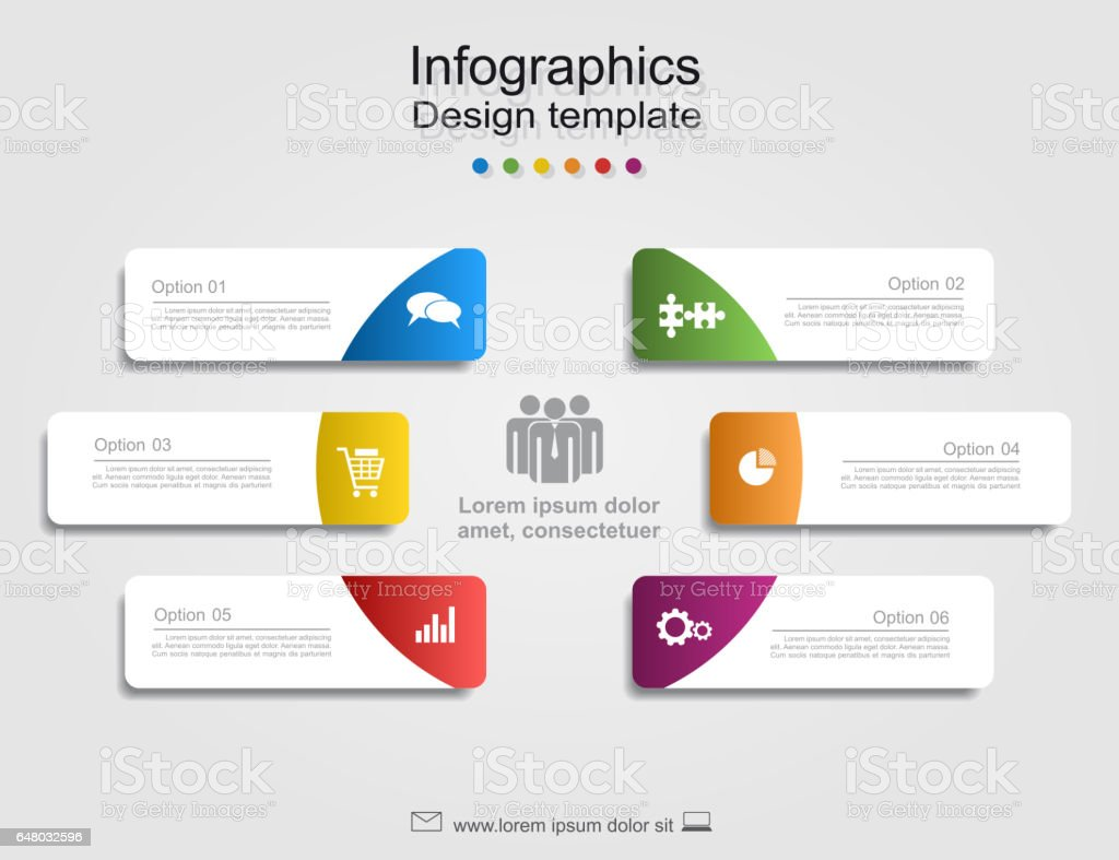 Infographic report template with place for data. Vector illustration. royalty-free infographic report template with place for data vector illustration stock illustration - download image now