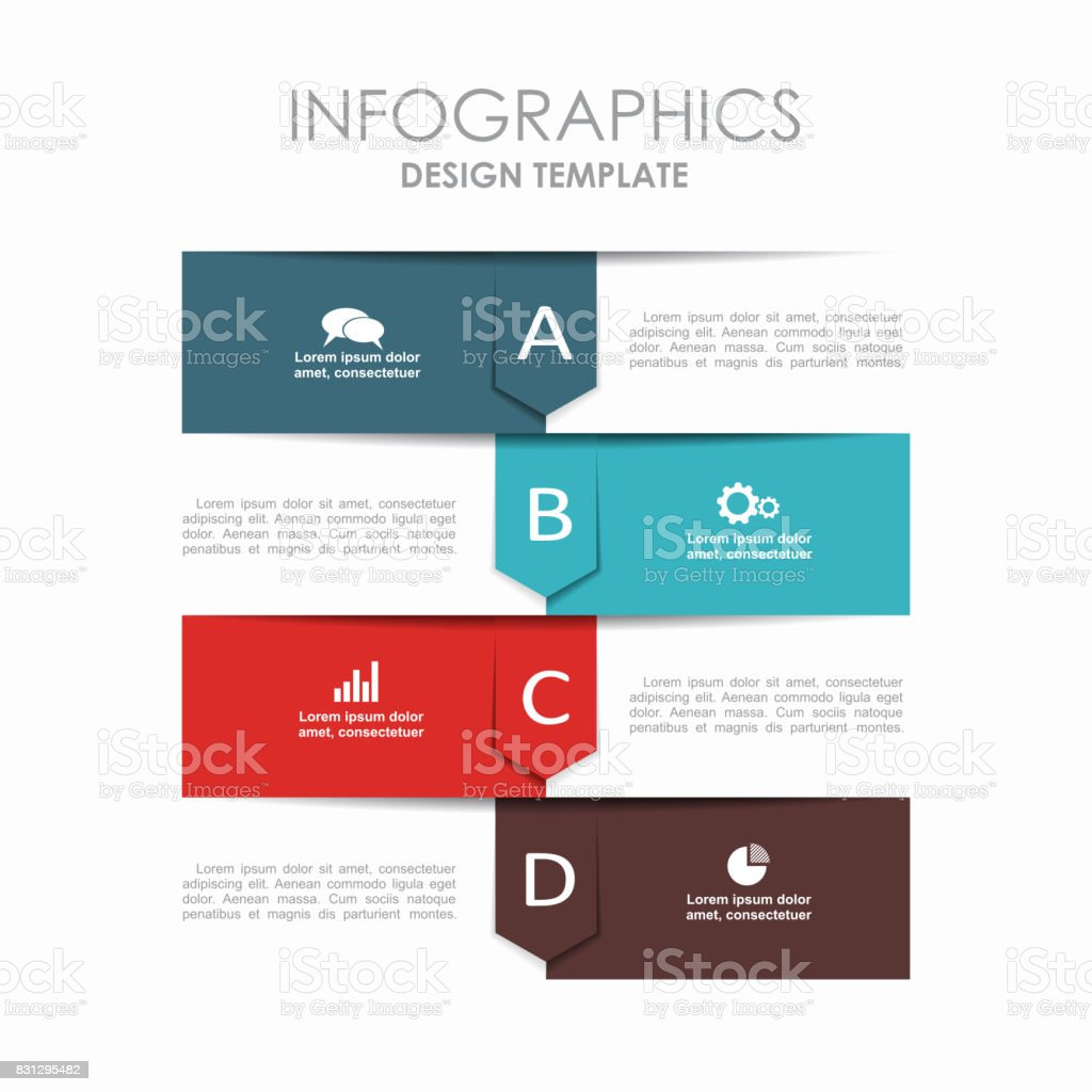 Infographic Template Can Be Used For Workflow Layout Diagram ...