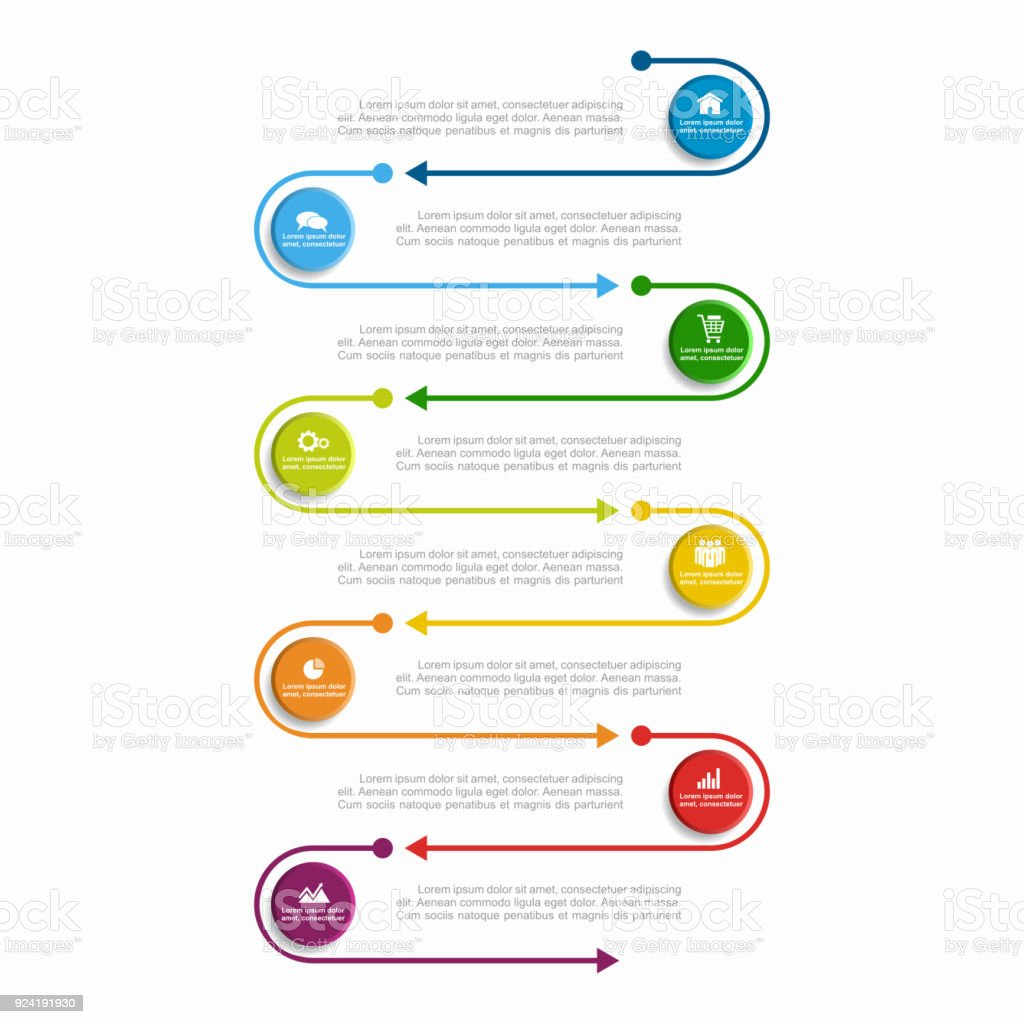 Infographic template. Vector illustration. Can be used for workflow layout, diagram, business step options, banner. векторная иллюстрация