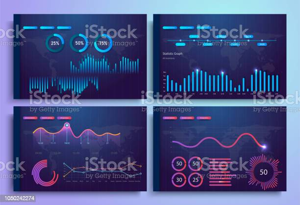 Infographic template with flat design daily statistics graphs pie vector id1050242274?b=1&k=6&m=1050242274&s=612x612&h=wpdm5klmobmzg9uklckewxjsgm7tl0ckuxc ajkjbny=