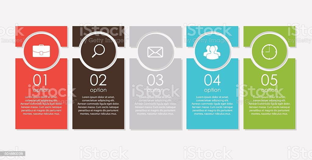 Infographic Templates for Business Vector Illustration royalty-free stock vector art