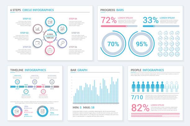 Infographic Templates vector art illustration