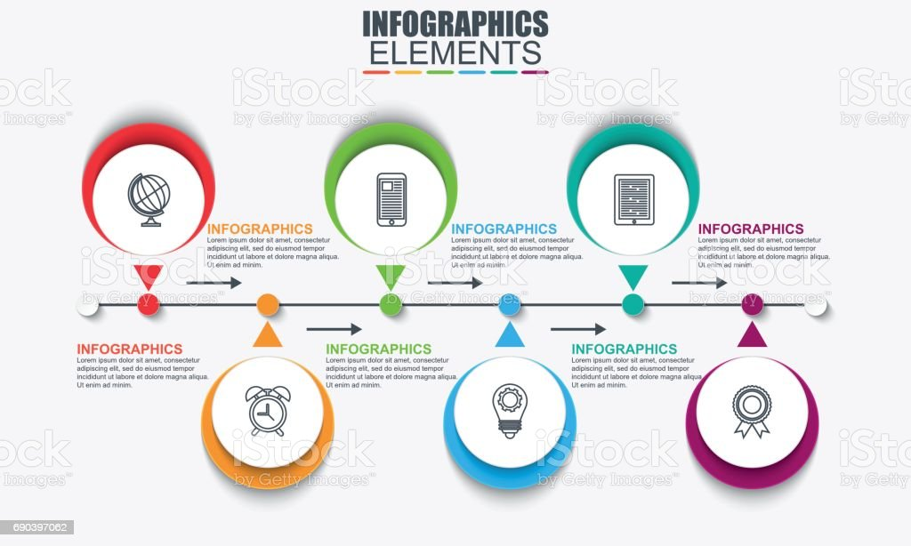 Infographic timeline data visualization vector stock vector art infographic timeline data visualization vector royalty free infographic timeline data visualization vector stock vector art publicscrutiny Choice Image