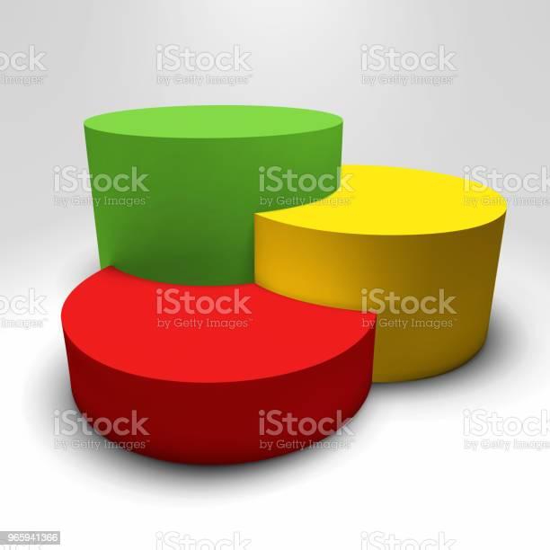 Infographic Vector 3d Sokkel Met Kleurrijke Kolommen Stockvectorkunst en meer beelden van Abstract