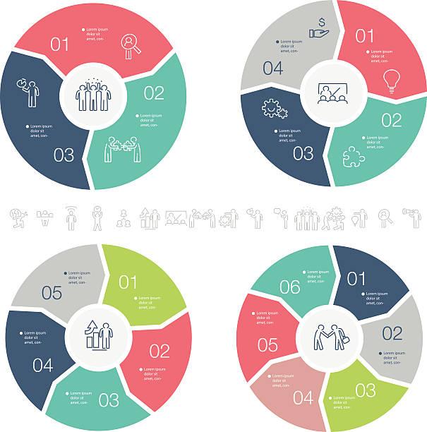 infografika - rower stock illustrations