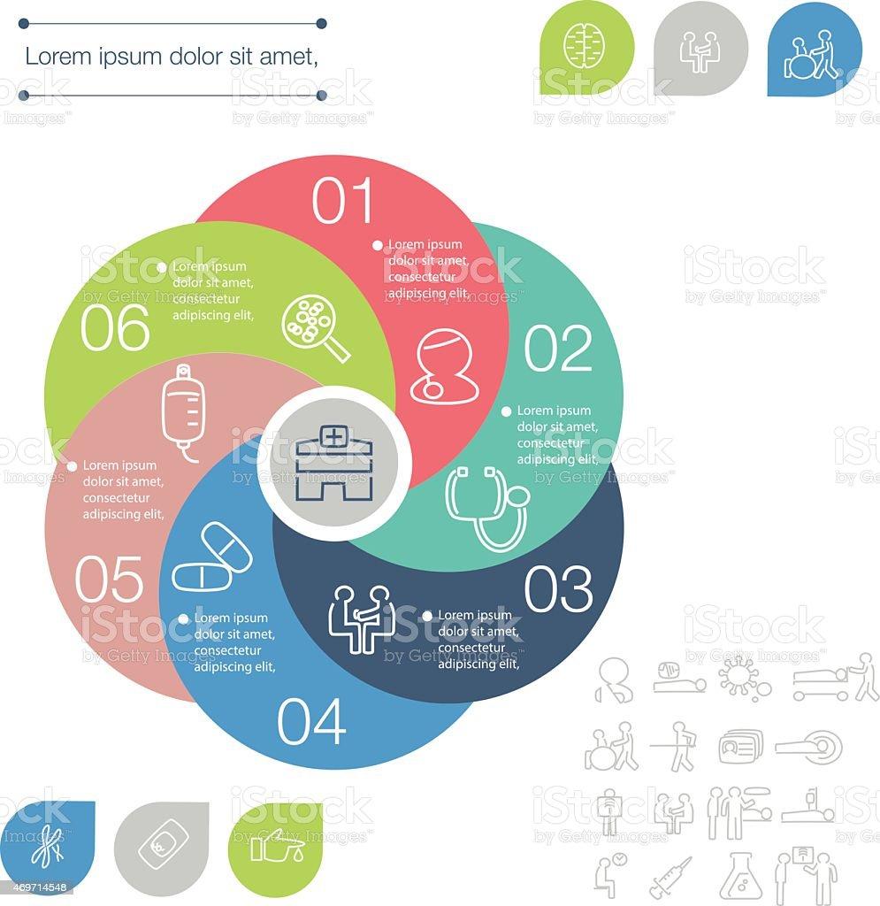 Infografía - ilustración de arte vectorial