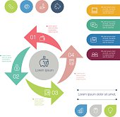 Vector File of Finance in Infographic