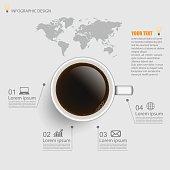 infographic,coffee,vector