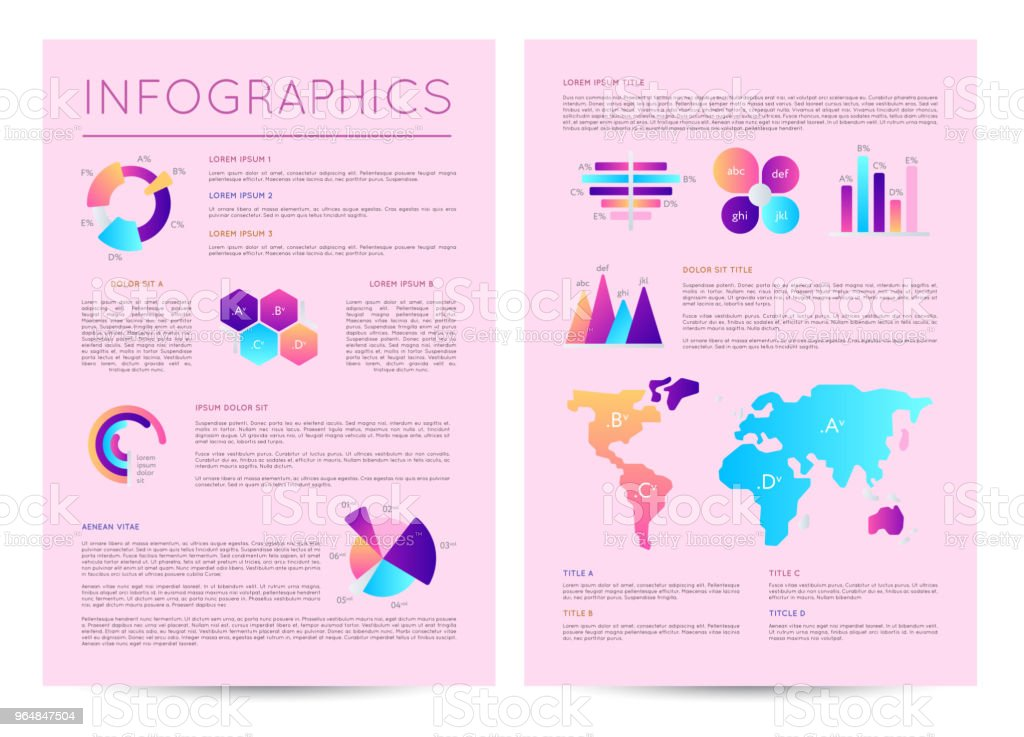 Infographics brochure with various diagrams royalty-free infographics brochure with various diagrams stock vector art & more images of abstract