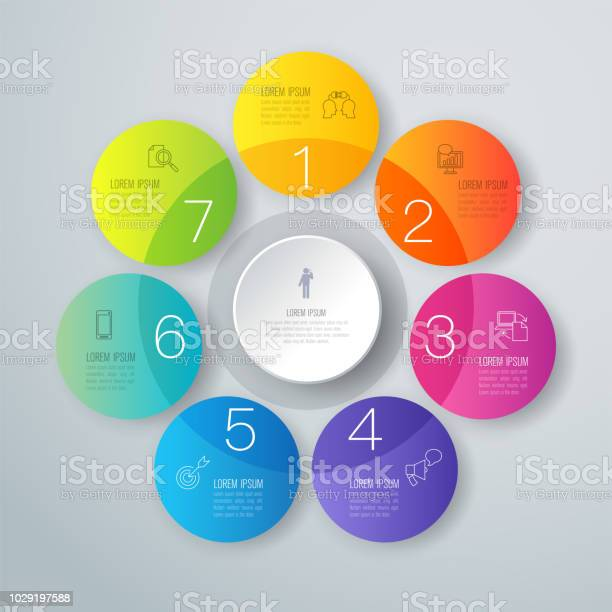 Infographics design vector and business icons with 7 options vector id1029197588?b=1&k=6&m=1029197588&s=612x612&h=adtrlu1c6 pgbkjvencj6b 4yjvbxjfeh61cts0facg=
