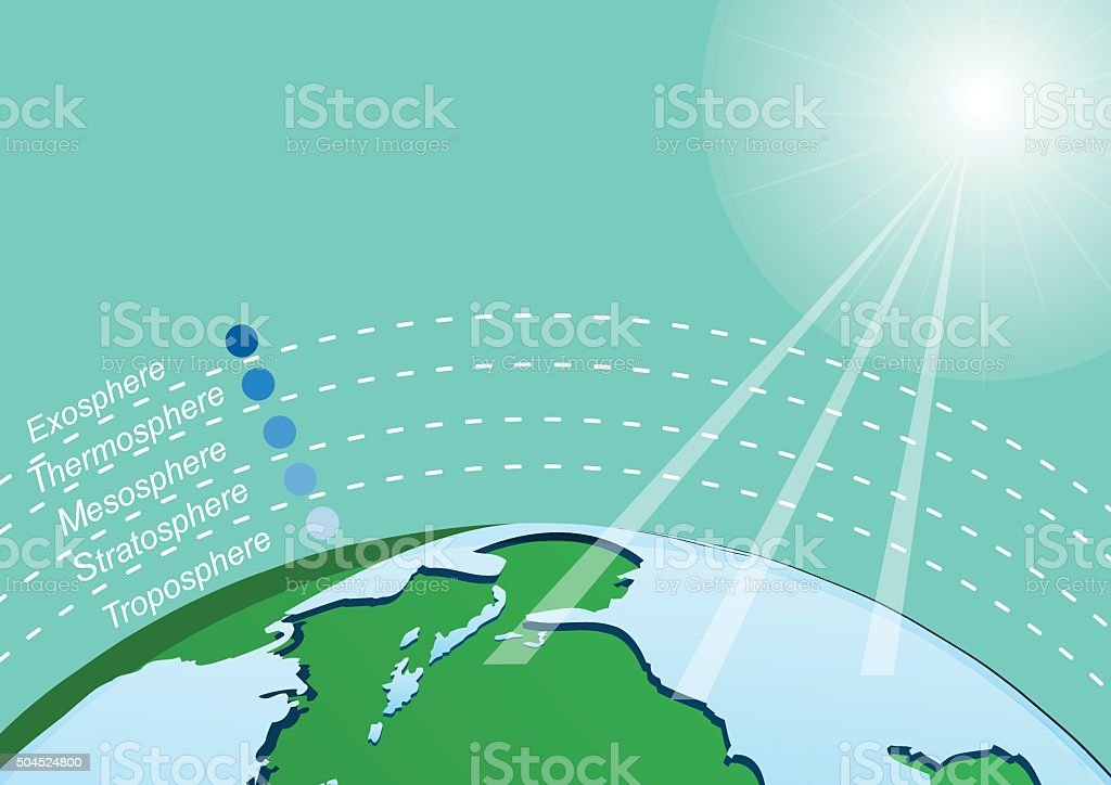 Infographics design with environment in nature global warming Il vector art illustration