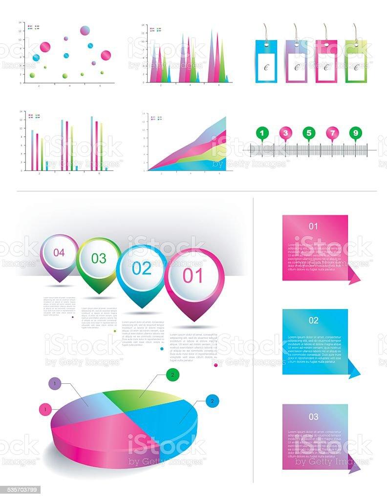 Infographics elemens