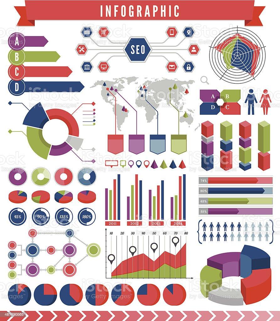 Infographics Elements royalty-free stock vector art