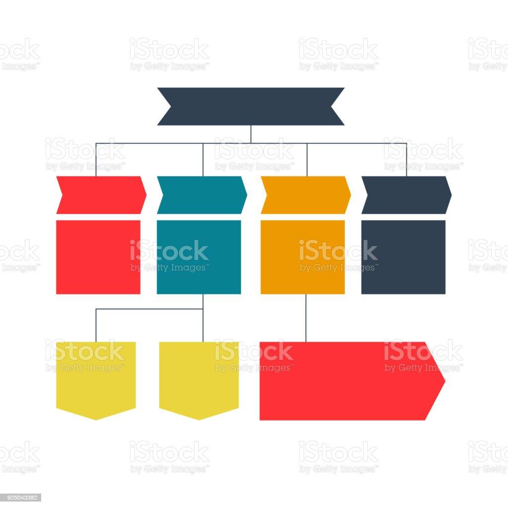 infographics flowchart colored schemes diagrams web designs business