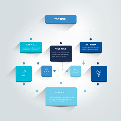 Flowchart infographics