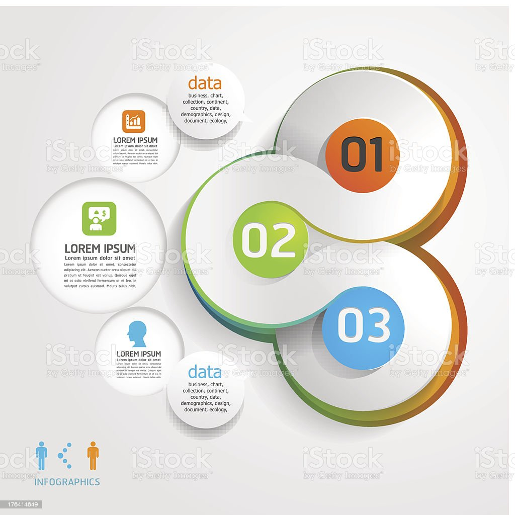 infographics modern Design Labels Circle  banners. royalty-free infographics modern design labels circle banners stock vector art & more images of abstract