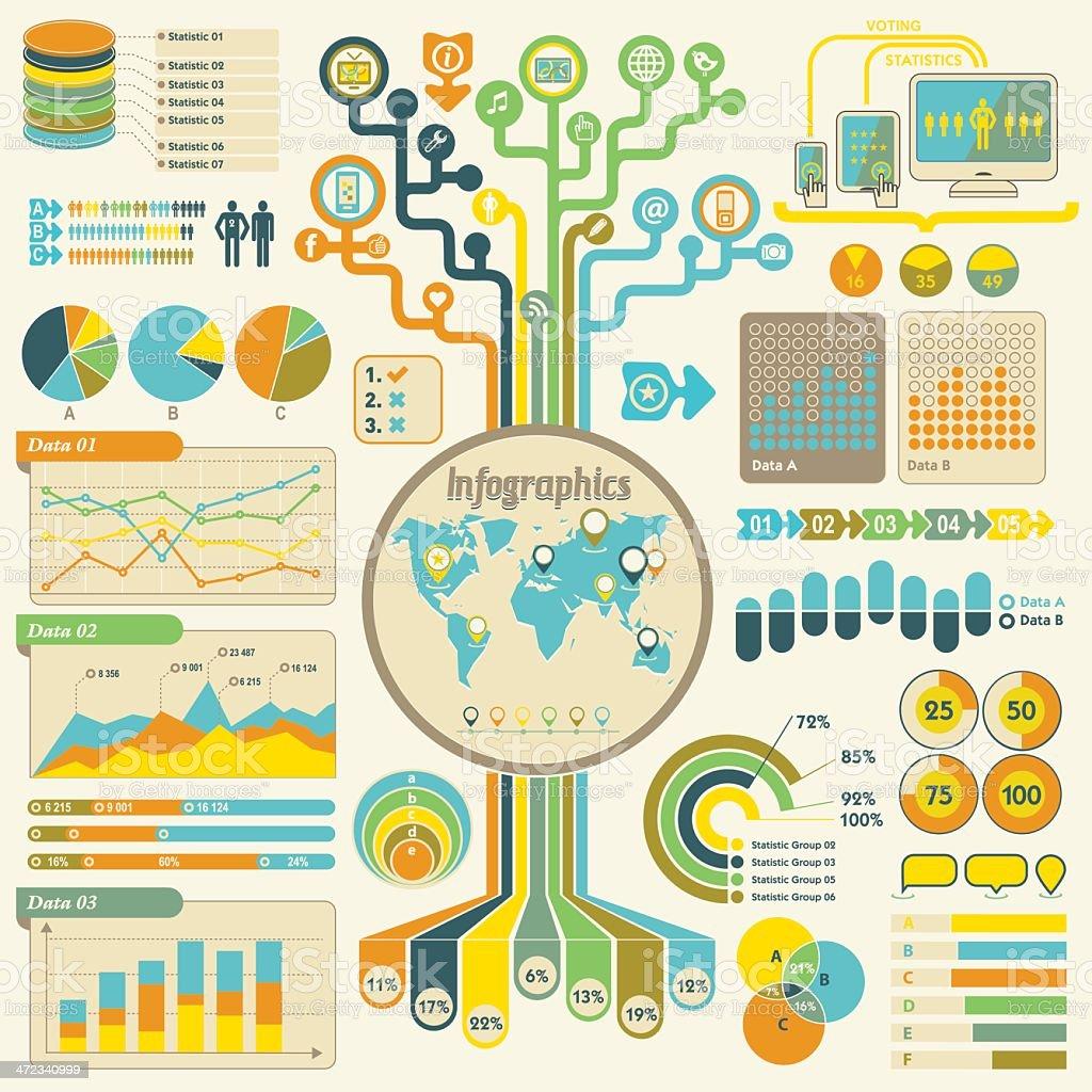 Infographics set royalty-free stock vector art