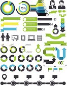 Infographics - statistic elements and icons