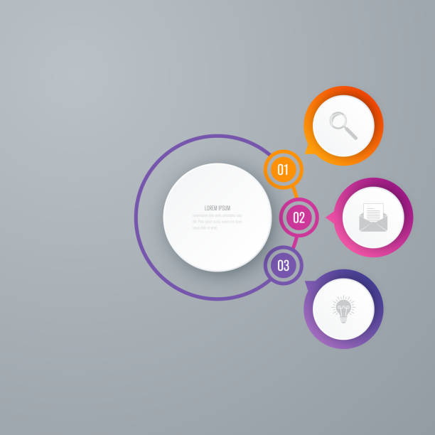 royalty free set of banner circle grid design clip art vector