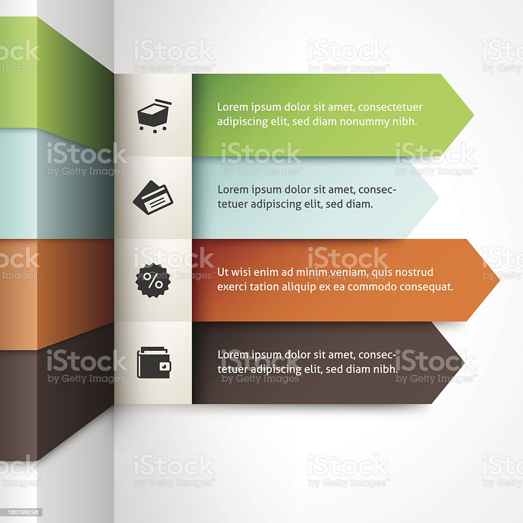 Infographics Template royalty-free stock vector art