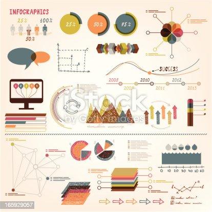 Infographics vector set Illustration