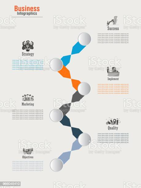 Инфографика — стоковая векторная графика и другие изображения на тему Абстрактный