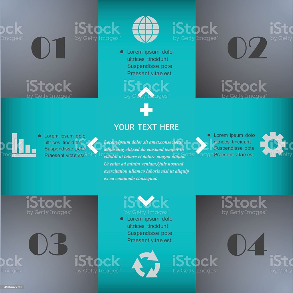Infographics web design. Modern template. royalty-free infographics web design modern template stock vector art & more images of apartment