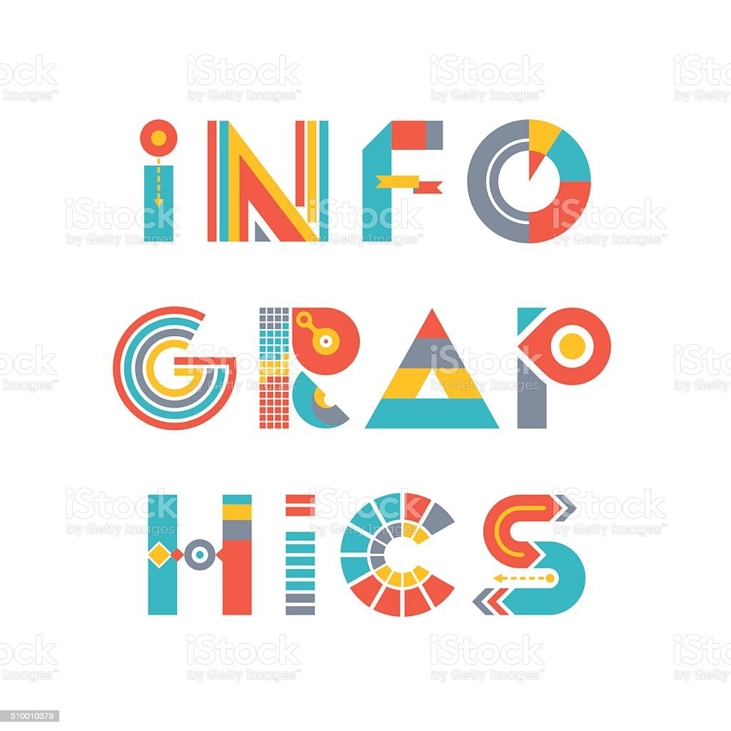 Infographics word logo sign in flat style stock vector art more infographics word logo sign in flat style royalty free infographics word logo sign in buycottarizona