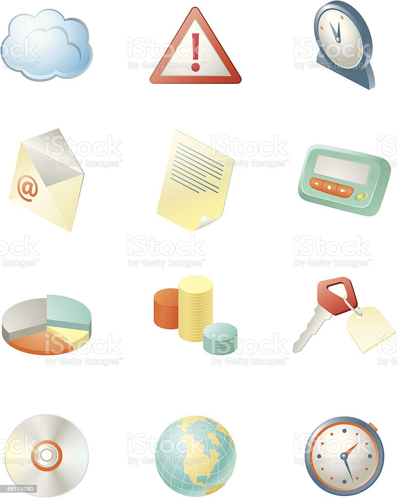 Information iconset royalty-free information iconset stock vector art & more images of alertness