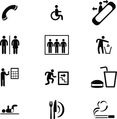 Information Sign Icon Set
