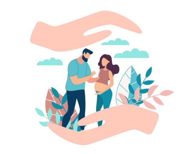 ilustrações de stock, clip art, desenhos animados e ícones de informative flyer female reproductive health. - future hug