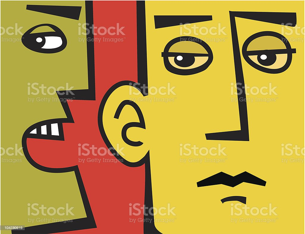 Informer  Color Image stock vector