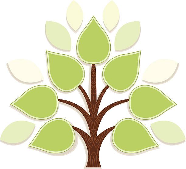 infotree - stammbäume stock-grafiken, -clipart, -cartoons und -symbole