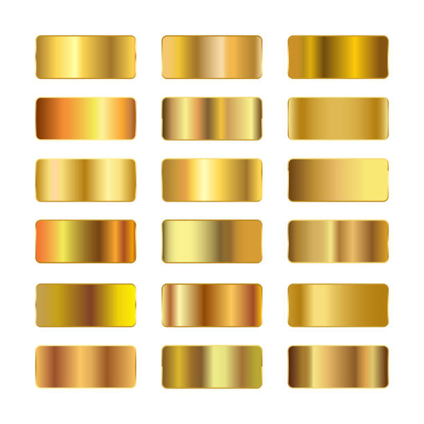 Ingots of gold, set of gold gradients, golden squares collection, textures group, gold background set – stock vector Ingots of gold, set of gold gradients, golden squares collection, textures group, gold background set – stock vector ingot stock illustrations