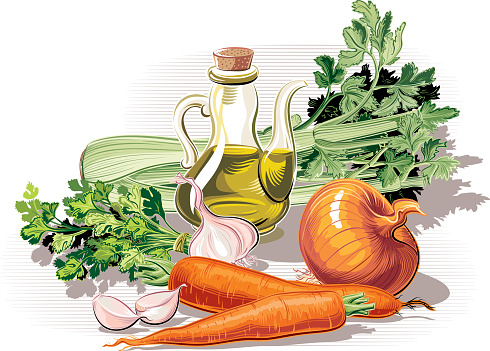 ingredients for sauce-