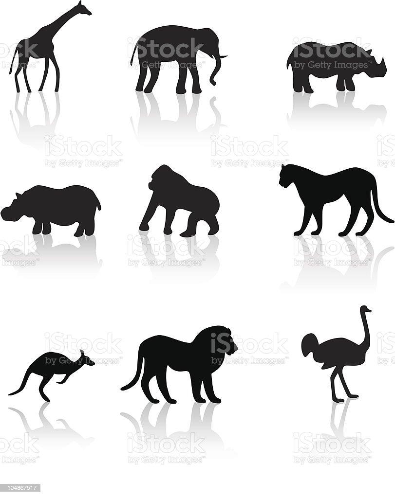 Inhabitants of savanna royalty-free inhabitants of savanna stock vector art & more images of africa